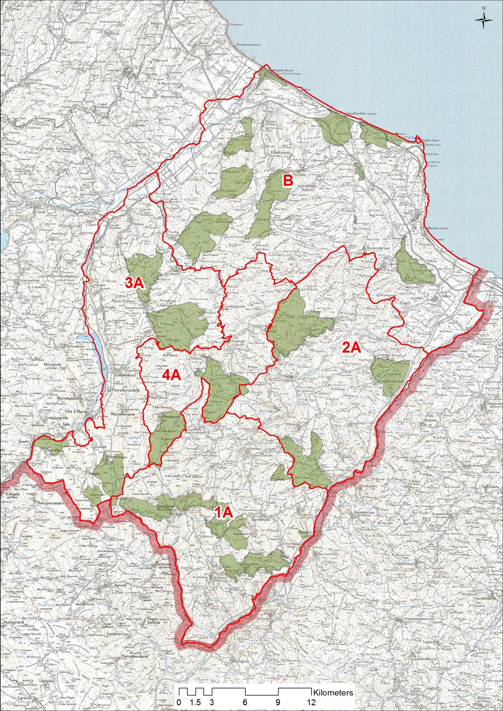 Cartina Abruzzo Pdf.A T C Vastese